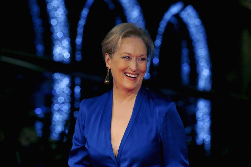 """Actress Meryl Streep arrives for the Gala screening of the film """"Suffragette"""" for the opening night of the British Film Institute (BFI) Film Festival at Leicester Square in London October 7, 2015. Photo courtesy REUTERS/Luke MacGregor"""