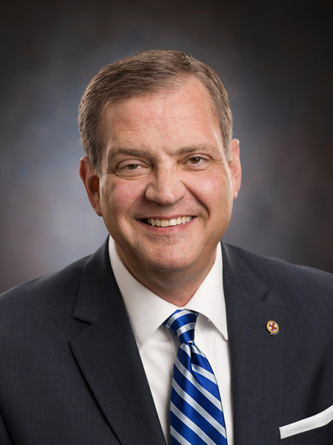 The Rev. R. Albert Mohler Jr. is president of the Southern Baptist Theological Seminary in Louisville, Ky. Photo courtesy of Southern Baptist Theological Seminary