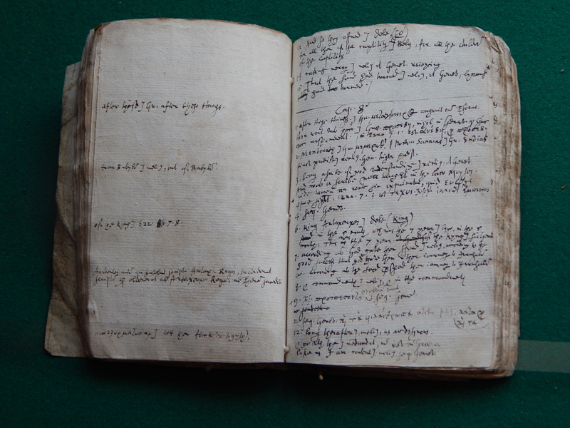 Samuel Ward's draft translation of 1 Esdras for the King James Bible. Reproduced by permission of the Master and Fellows of Sidney Sussex College, Cambridge, photograph by Maria Anna Rogers