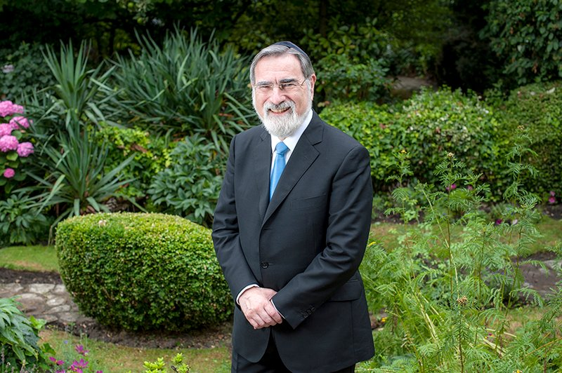 Chief Rabbi, Lord Sacks. Photo courtesy of Blake-Ezra Photography