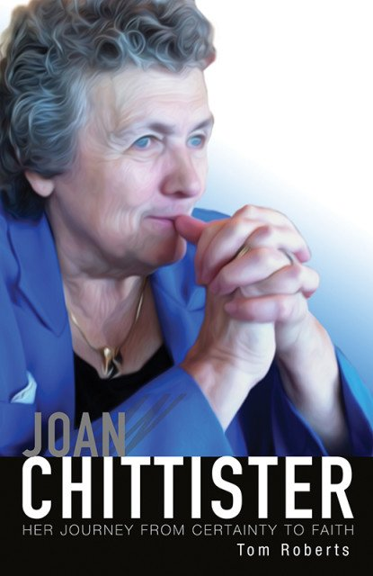 """""""Joan Chittister: Her Journey from Certainty to Faith,"""" book cover. Photo courtesy of Orbis Books"""