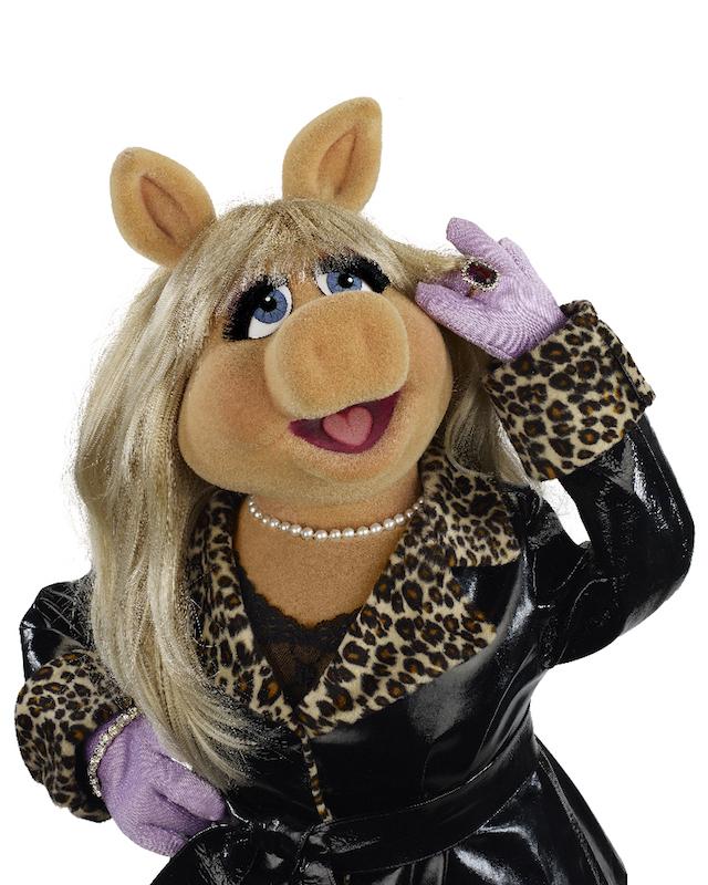 """ABC's """"The Muppets"""" stars Miss Piggy. Photo courtesy ABC/John E. Barrett/The Muppets Studio)"""