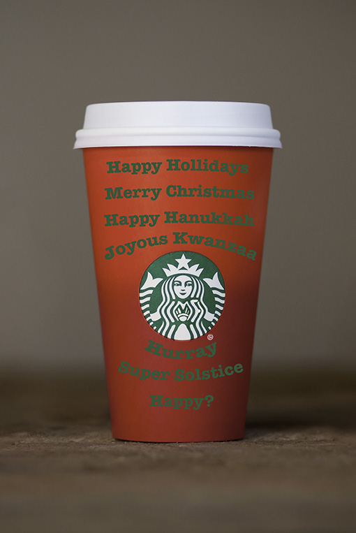 """Starbucks faux outrage: When did this """"War on Christmas"""" start ..."""