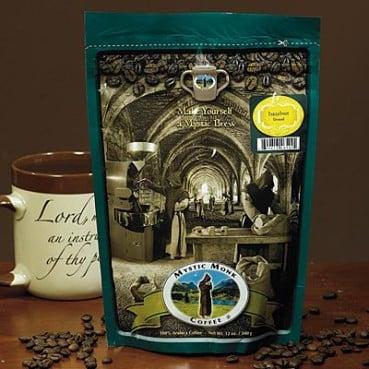 Mystic Monk coffee.