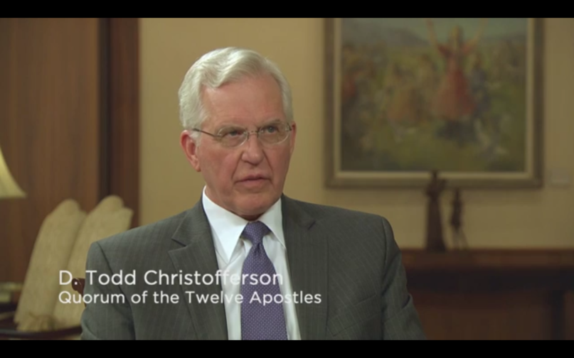 Elder D Todd Christofferson