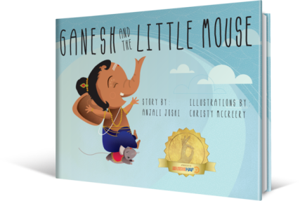 Ganesh and the Little Mouse book.