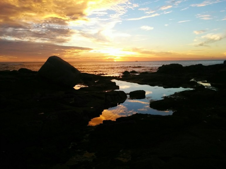 Cape Town sunset (Photo by Brian Pellot)