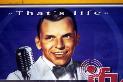 Frank Sinatra. Courtesy: 360b, via Shutterstock