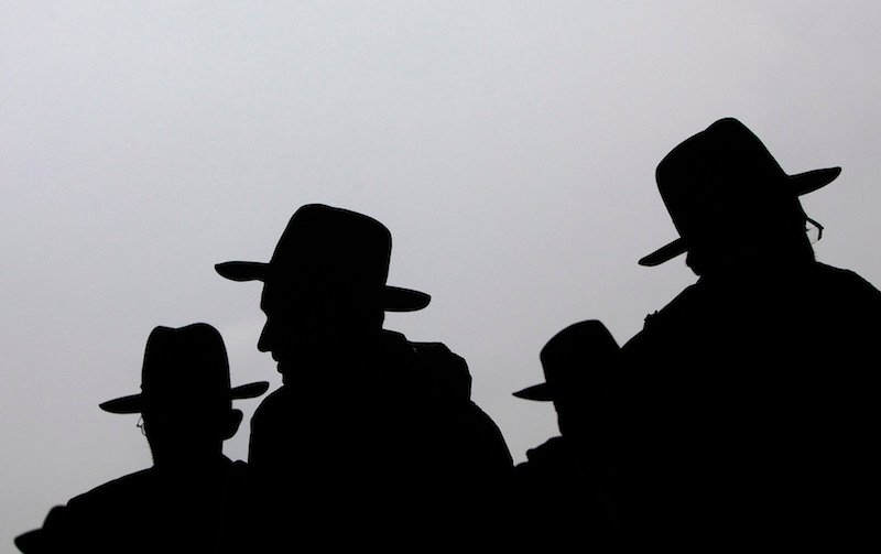 Orthodox Jewish men in East Rutherford, New Jersey August 1, 2012. Photo courtesy REUTERS/Eric Thayer