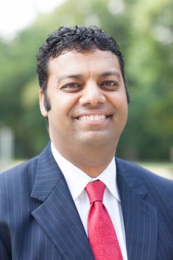 Ayman S. Ibrahim is Bill and Connie Jenkins Assistant Professor of Islamic Studies and senior fellow of the Jenkins Center for the Christian Understanding of Islam at The Southern Baptist Theological Seminary in Louisville, Ky. Photo courtesy Emil Handke, Southern Baptist Theological Seminary.