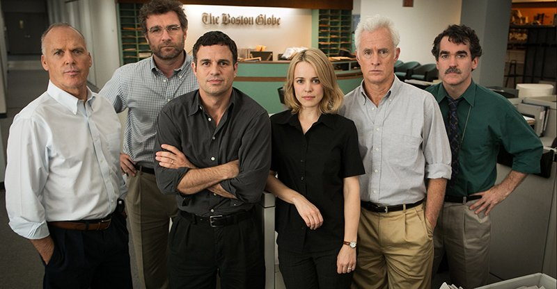 "The cast of ""Spotlight."" Photo courtesy of Open Road Films"