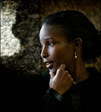 2015 Lantos Human Rights Prize Recipient Ayaan Hirsi Ali. Photo courtesy of Michael Kooren
