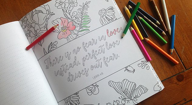Christian authors and publishers are getting into the coloring book game just in time for Christmas. In addition to therapeutic benefits, these products claim to offer a groundbreaking way to engage the Bible and memorize scripture passages. - Image courtesy of Margaret Feinberg