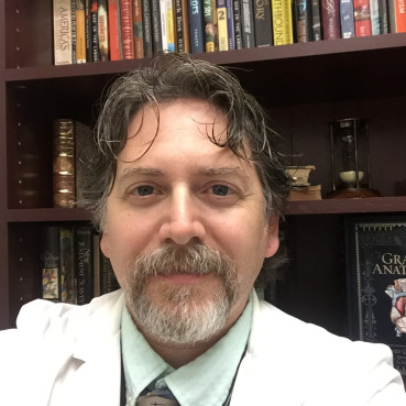 Daniel Howell is a professor of biology and anatomy coordinator in the Department of Biology at Liberty University, Lynchburg, Va. Photo courtesy of Daniel Howell