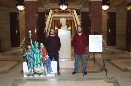Members of Freedom From Religion Foundation and their secular nativity
