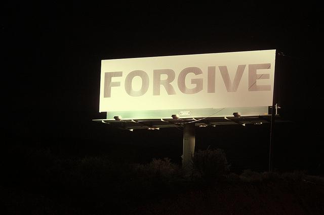Forgive - courtesy of Timlewisnm via Flickr
