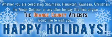 Orange County Atheists proposed banner, Courtesy Friendly Atheist