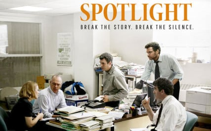 "The case of ""Spotlight"" - courtesy of Open Road Films"