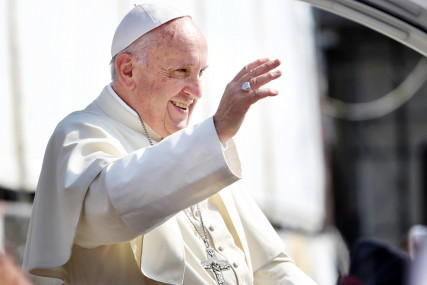 Pope Francis. Credit: Mike Dotta, courtesy Shutterstock