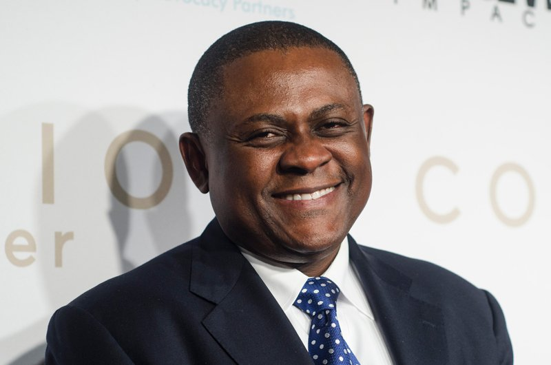 Doctor Bennet Omalu attends an advance screening of Sony Pictures' new movie Concussion at Regal Cinemas Gallery Place 14 on December 9, 2015 in Washington, DC. Photo courtesy of Kris Connor for Sony Pictures
