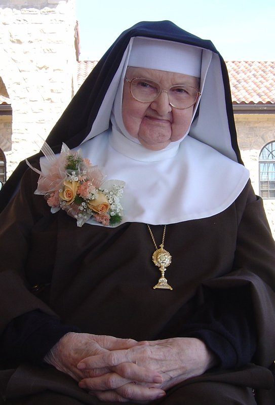 An announcement last week that Mother Angelica, the doughty nun who founded the EWTN cable network before suffering an incapacitating stroke in 2001, had been given a feeding tube set off alarm bells, especially among her loyal following of conservative Catholics. Photo courtesy of Our Lady of the Angels Monastery