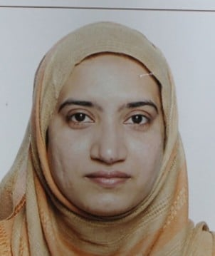Tashfeen Malik is pictured in this undated handout photo provided by the FBI, December 4, 2015. U.S.-born husband, Syed Rizwan Farook, 28, and his spouse, Tashfeen Malik, 29, a native of Pakistan who lived in Saudi Arabia for more than 20 years, died in a shootout with police hours after Wednesday's attack on a holiday party at the Inland Regional Center social services agency in San Bernardino, about 60 miles (100 km) east of Los Angeles. REUTERS/FBI/Handout via Reuters ATTENTION EDITORS - FOR EDITORIAL USE ONLY. NOT FOR SALE FOR MARKETING OR ADVERTISING CAMPAIGNS. THIS IMAGE HAS BEEN SUPPLIED BY A THIRD PARTY. IT IS DISTRIBUTED, EXACTLY AS RECEIVED BY REUTERS, AS A SERVICE TO CLIENTS