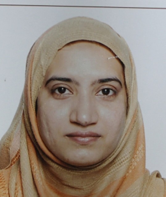 Tashfeen Malik is pictured in this undated handout photo provided by the FBI,