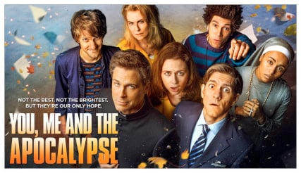 'You, Me and the Apocalypse' Season 1 Key Art. Photo courtesy of NBC Universal