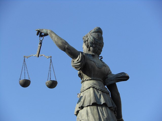 Scales of Justice image.