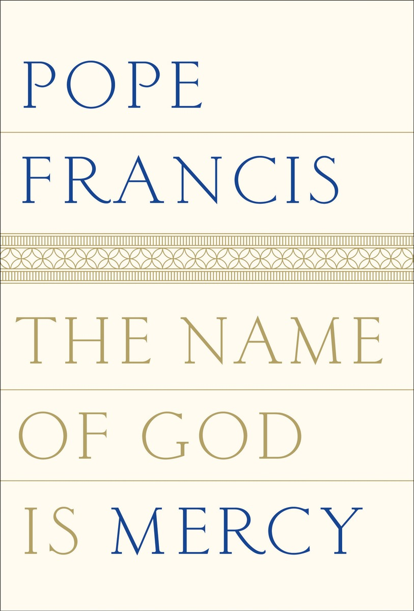 Cover of a new book that comprises an interview with Pope Francis.