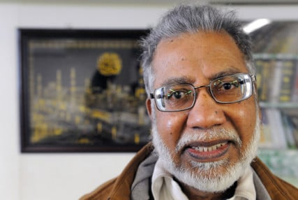 Masjid As-Salaam Mosque president Ahmad Shamshad, photographed on Friday Feb. 13, 2015 in Albany, N.Y. Photo by Michael P. Farrell/Times Union