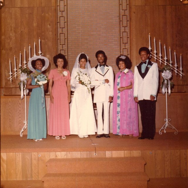Candy and Ben Carson, center, were married in 1975. Photo courtesy of the Carson family