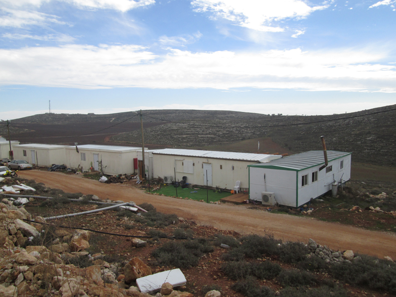 Esh Kodesh, an unrecognized settlement outpost in the West Bank, is home to 40 Jewish families. Religion News Service photo by Michele Chabin