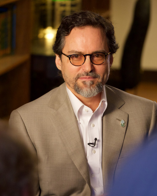 Shaykh Hamza Yusuf, co-founder of Zaytuna College, the first Muslim liberal arts college in the U.S. Photo courtesy of Zaytuna College