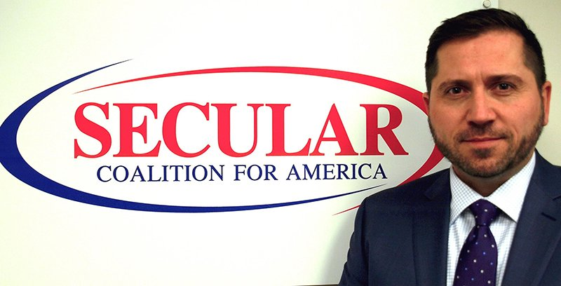 Larry T. Decker, the newly appointed executive director of Secular Coalition for America. Photo courtey of Secular Coalition of America