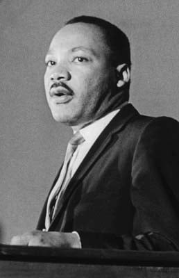(RNS1-AUG27) Forty years after Rev. Dr. Martin Luther King Jr.'s famous ``I Have a Dream'' speech, widely divergent voices _ from the conservative Alabama Chief Justice Roy Moore to liberal gay rights organizations _ claim to be fighting for King's ``dream.'' See RNS-KING-COMPARE, transmitted Aug. 27, 2003. RNS file photo.