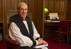 Bishop of Carlisle, James Newcome. Photo courtesy of The Diocese of Carlisle