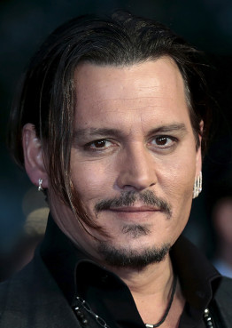 "Cast member Johnny Depp arrives for the British premiere of the film ""Black Mass"" in London, Britain on October 11, 2015. Photo courtesy of REUTERS/Suzanne Plunkett"