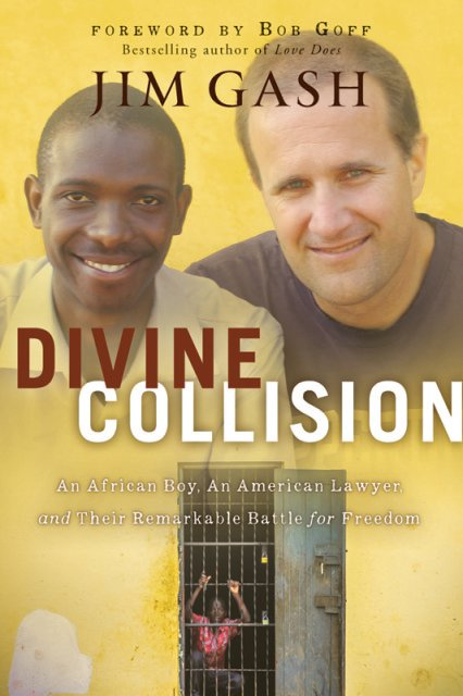 Cover art for Divine Collision by Jim Gash. Photo courtesy of Worthy Publishing