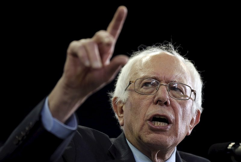 U.S. Democratic presidential candidate Bernie Sanders speaks at a campaign rally in Ypsilanti, Michigan, United States, on February 15, 2016. Photo courtesy of REUTERS/Jim Young *Editors: This photo may only be republished with RNS-GUROCK-COLUMN, originally transmitted on Feb. 16, 2016.