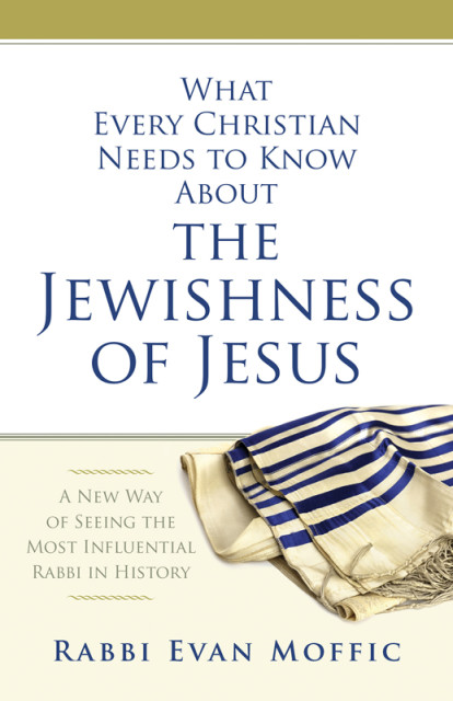 """""""What Every Christian Needs to Know About the Jewishness of Jesus."""" Book cover photo courtesy of Abingdon Press"""