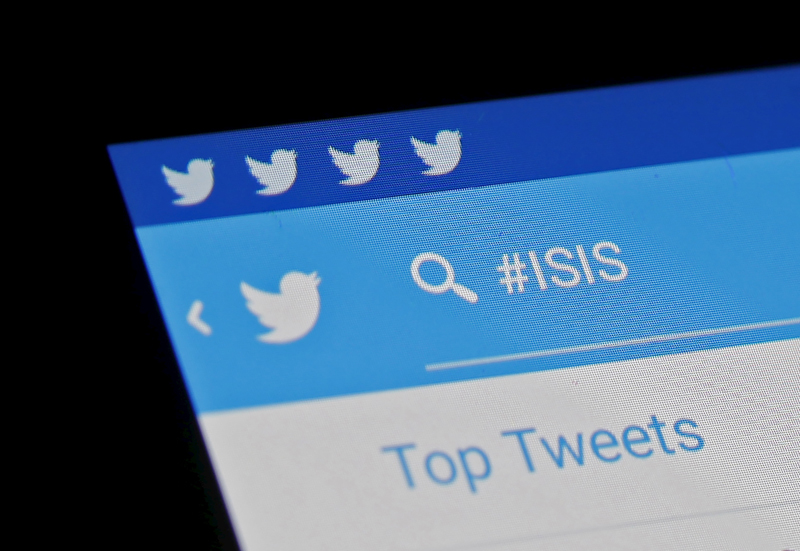 The Islamic State hashtag (#ISIS) is seen typed into the Twitter application on a smartphone in this picture illustration taken in Zenica, Bosnia and Herzegovina, on February 6, 2016. Twitter Inc has shut down more than 125,000 terrorism-related accounts since the middle of 2015, most of them linked to the Islamic State group, the company said in a blog post on Friday. Photo courtesy of REUTERS/Dado Ruvic *Editors: This photo may only be republished with RNS-ONLINE-ISIS, originally transmitted on Feb. 10, 2016.