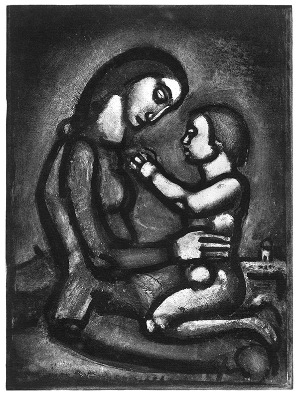 "Georges Rouault, Bella matribus detestata. (""Wars, dread of mothers.""), 1927. Photo courtesy of © 2016 Artists Rights Society (ARS), New York / ADAGP, Paris *Editors: This photo may not be republished."