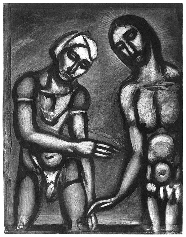 Georges Rouault, Seigneur, c'est vous, je vous reconnais. (Lord, it is you, I know you.), 1927. Photo courtesy of © 2016 Artists Rights Society (ARS), New York / ADAGP, Paris *Editors: This photo may not be republished.