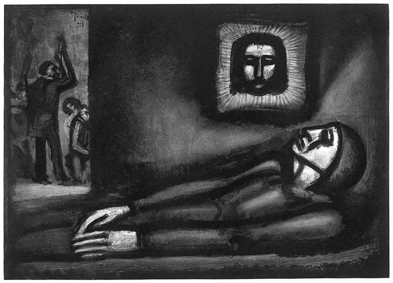 "Georges Rouault, ""De profundis ..."" (""Out of the depths ...""), 1927. Photo courtesy of © 2016 Artists Rights Society (ARS), New York / ADAGP, Paris *Editors: This photo may not be republished."