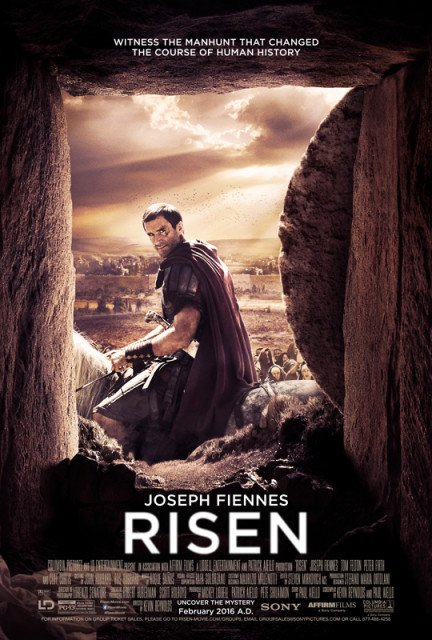 Risen movie poster. Photo courtesy of Columbia Pictures