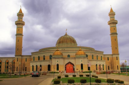 "Islamic Center Of America, Dearborn, Michigan. Photo by ""Ryan"" via Flickr Creative Commons https://www.flickr.com/photos/ryanready/5694563549/"