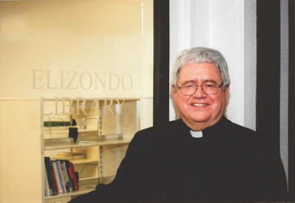 Photo of the Rev. Virgilio Elizondo, who died on March 14, 2016, courtesy of the Archdiocese of San Antonio