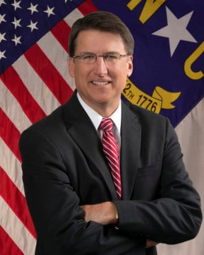 Photo courtesy the office of Gov. Pat McCrory.