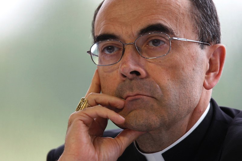 French Cardinal Philippe Barbarin, Archbishop of Lyon, August 29, 2008. Photo courtesy REUTERS/Charles Platiau